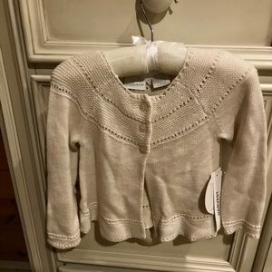 NWT 9-12 Month Oatmeal Sweater